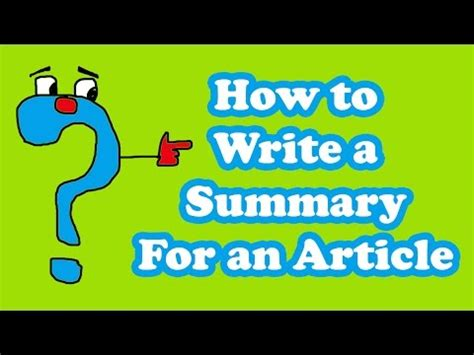 How to write good abstract in a report